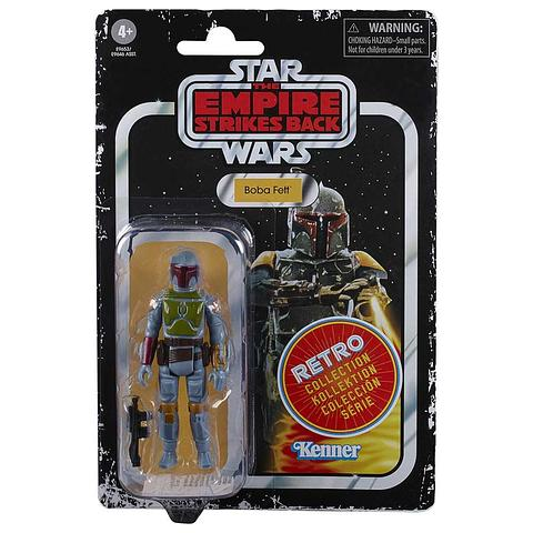 "Hasbro Star Wars Retro Collection Boba Fett 3.75/"" Action Figure 2020 ESB"