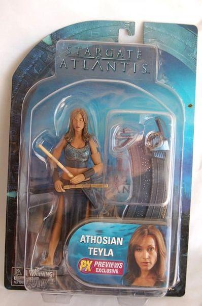 Stargate Atlantis Athosian Teyla PX Diamond Select Action